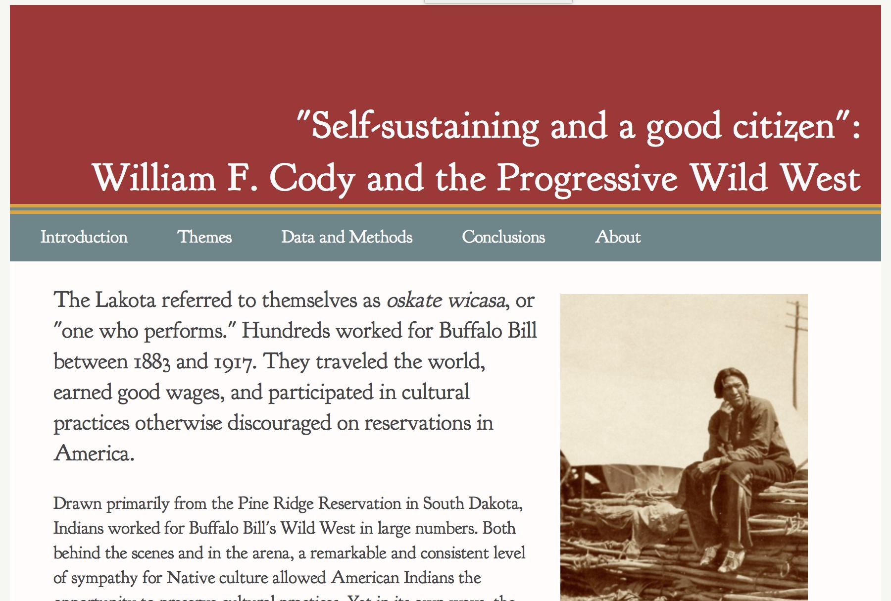 William F. Cody.