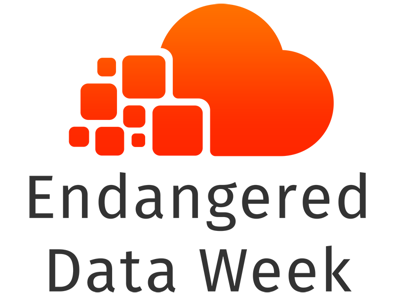 Endangered Data Week